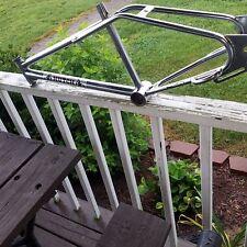old school bmx chrome hutch wind styler frame nice survivor fit haro gt Mongoose