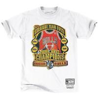 Chicago Bulls Mitchell & Ness NBA Greatest Team Ever T-Shirt - Vintage White