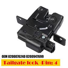 TAILGATE BOOT LOCK REAR FOR RENAULT CLIO Mk3 MEGANE Mk2 GRAND SCENIC MODUS 4Pins