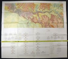 Usgs Black Canyon Of Gunnison Spectacular Double Map Set in Original Sleeve 1971