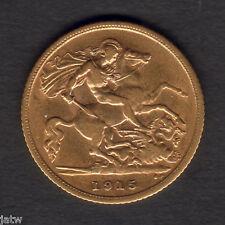 Australia.  1915 Sydney - Half Sovereign..  Part Lustre..  gVF
