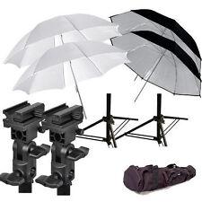 New flash mount 4 umbrella stand for Nikon Canon Speedlite flash hotshoe mount