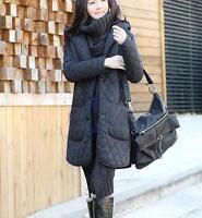 Fleece Quilted Jacket Coat HOOD LSM32 PLUS size 1X2X3X4X5X6X7X8X9X10X(size16-52)