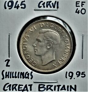 1945 Great Britain Florin