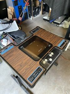 ATARI * ASTEROIDS 1979 Arcade Cocktail Table BEAUTIFUL  Serviced & Working GAME