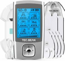 TENS Unit Muscle Stimulator with 8 Electrode Pads 24 Modes
