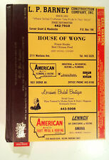 Helena, MT 1983 1984 Polk's Montana City Directory Resident Business Phone Book