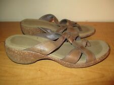 Merrell Women's Size 7 Brown Leather Air Cushion Sandals - Nice - Fast Shipping