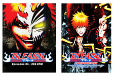 ANIME DVD Bleach Vol.1-366 End + 4 Movie ENGLISH VERSION + FREE EXPRESS US