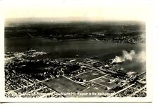 Aerial View-City of Bremerton Washington-1951 RPPC-Vintage Real Photo Postcard