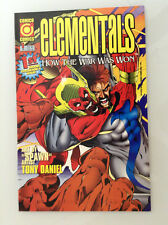 ELEMENTALS HOW THE WAR WAS WON#1 1ST PRINT NM HIGH GRADE COMICO LOW PRINT RARE
