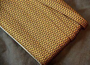 10mm Japanese silk tsuka-ito, gold and black
