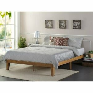 Zipcode Design Ella Platform Bed Kingsize - Rustic Pine