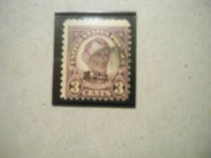 USA Used, 1929 Issue, 3 Cent Over Print, Rotary Press