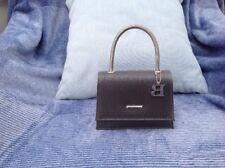 Bulaggi Evening Bag Detachable Strap Grey And Silver Designer
