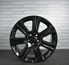 "FOUR Genuine Range Rover Evoque 18"" Alloy Wheels SATIN BLACK VELAR DISCO SPORT"