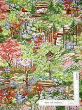 Garden Cottage Quilts Flowers Cotton Fabric Timeless Treasures C6610 By The Yard