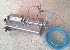 foot pedal,piston filler,small bottle liquid filling machine 300-2500ml