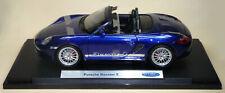 Porsche Boxster S blau ca.1:18 detailreiches Sammlermodell 24 cm Neuware WELLY