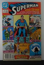 Superman #423 (DC, 1986)  Key issue, the historic last issue