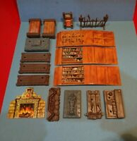 Heroquest Furniture Bundle Original Items Hero quest Board Game Spares MB