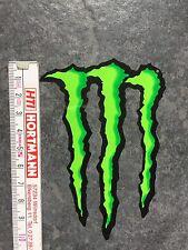 4 Monster Energy Aufkleber, Tuning, Auto, Skateboard, grüne Kralle