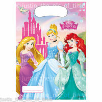 DISNEY PRINCESS PARTY BAGS Childrens Birthday Party Supplies Girls Gift Bags