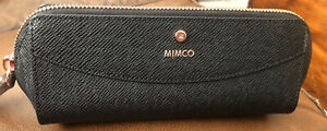 Mimco Genuine Leather Makeup Pouch Rrp$99.95