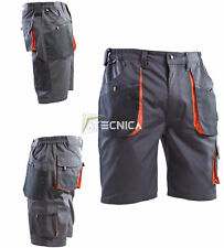 Bermuda multitasche da lavoro AERRE Liberty 2 pantaloncino corto tessuto tecnico