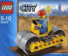 LEGO CITY 30003 Steam Roller Dampfwalze + Fahrer; im Polybeutel Exklusivset