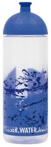 ISYbe Schul-Trinkflasche, Wasser 0,7L, BPA-frei, auslaufsicher, Kohlensäure geei