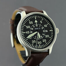 Aristo piloto XL 42mm suizo Automatik obra aristomatic Laco 3h116