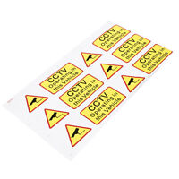 Car Taxi Sticker Decal Sign Security CCTV Operating In This Vehicle Waterproof