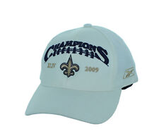 New! New Orleans Saints 2009 Champions Adjustable Snap Back Hat Embroidered Cap