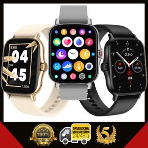 Smartwatch Uomo Donna Watch 2021 Chiamate Messaggi Sport Salute Android IOS