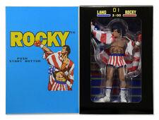 Rocky Balboa Sylvester Stallone Retro Classic Video Game Action Figur NECA