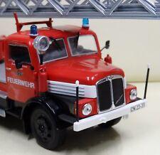 IXO: IFA S 4000-1 DL2 Drehleiter Leiterwagen Feuerwehr Meetzen 1:43