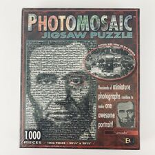 "Photomosaic Jigsaw Puzzle 1,000 pieces ""Lincoln"" New/Sealed in Box"