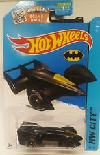 Hot Wheels 2015 Hw City Batman Live Batmobile #65/250 Black/Yellow