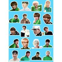 Kpop Monsta X Funny Expression Adhesive Photo Stickers Shownu I.M DIY Stickers