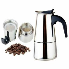 Coffee Maker fashion Design Large Capacity Stainless Steel Espresso Maker 2-9cup