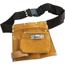 Heavy Duty 6-Herramienta de Cuero de Bolsillo Tornillos de cinturón de Uñas & Perforadores Carpintero-Amtech