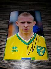 Signiertes Foto Ritchie de Laet Norwich City NEU