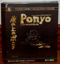 PONYO EN EL ACANTILADO COLECCION DE LUJO DIGIBOOK BLU-RAY+DVD NUEVO PRECINTADO
