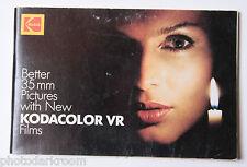 Kodak kodacolor VR Films Better 35mm Pictures KTO-1 122 3759 - Good USED B9