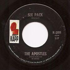 APOSTLES Six Pack / Soul Fiesta  Instrumental Funk 45 on Kapp  Listen