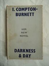 I. Compton-Burnett, DARKNESS & DAY, Gollancz, 1951 PRIMA EDIZIONE, in inglese