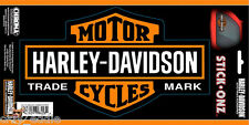 HARLEY DAVIDSON LONG BAR AND SHIELD DECAL **XL** MADE IN USA - 9 INCHES WIDE