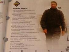 "Teknic ""Sirocco"" Men's Size 50 Blue Riding Jacket-$329"