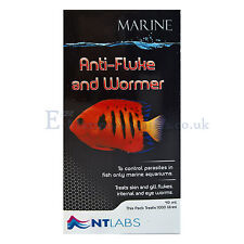 NT Labs Marine Anti Fluke & Wormer 100ml Fish Treatment Aquarium
